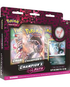 Pokémon, Champion's Path, Obstagoon, Pin Collection, TCG, Booster Pakker, Byttekort, Shiny Charizard,