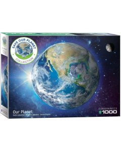Puslespil - Save our Planet: Our Planet, 1000 brikker