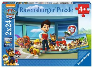 Paw patrol helpful good noses puzzle 2x24 pieces