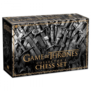 Skak - Game of Thrones: Collector's Chess Set