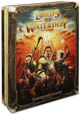 Lords Of Waterdeep - Board Game; Brætspil