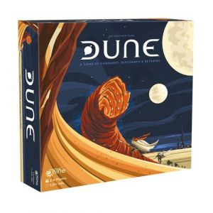 Dune A game of conquest, diplomacy and betrayal 2019-genudgivelse af Avalon Hill-udgaven Galeforce nine