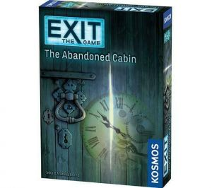 EXIT: The Abandoned Cabin - På Engelsk; Escape game, Kosmos, Coop, Mysteries