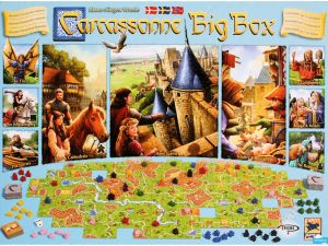 Carcassonne Big Box - på dansk