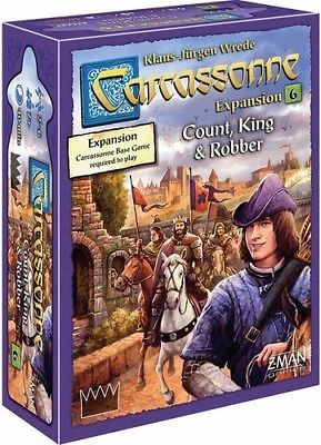 Carcassonne; expansion #6; count king and robber