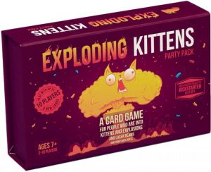 Exploding Kittens: Party Pack Game