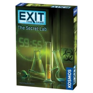 Exit: The Secret Lab - På Engelsk; Escape game