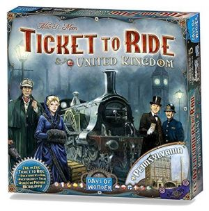 Ticket To Ride: Map Collection #5 - United Kingdom & Pensylvania brætspil