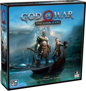 God Of War: The Card Game Cards Playstation COMN Co-op