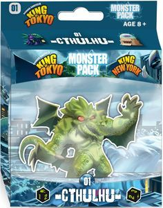 King of Tokyo: Monster Pack #1 - Cthulhu