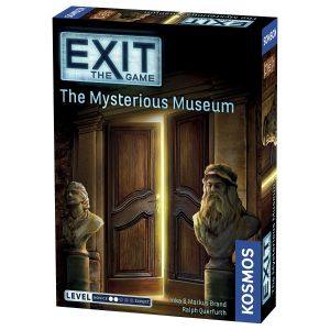 EXIT The Game, The Mysterious Museum, Kosmos, Escape Room, Coop, Novice