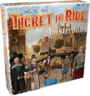 Ticket to Ride: Amsterdam - på dansk
