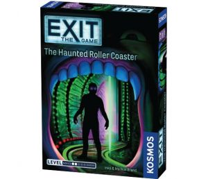 Exit the game, the haunted roller coaster, coop, kosmos, escape game, escape room