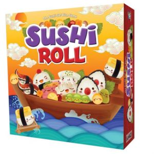 sushi roll the sushi go dice game