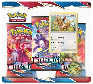 Pokémon, Sword & Shield 5, Battle Styles, Jolteon, Eevee, Booster Pack, TCG, Byttekort, Booster Pakke, Pokemon, pokemon mønt, kortpakker