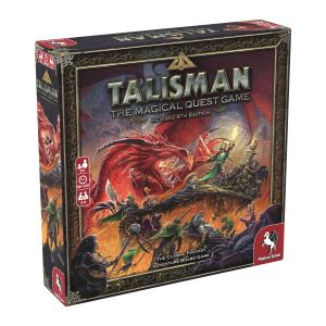 Talisman Revised 4th Edition, The Magical Quest Game, Adventure Game, Eventyr, Board Game, Brætspil, Pegasus Spiele