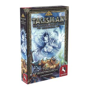 Talisman 4th ed., The Magical Quest Game, The Frostmarch, Expansion, Udvidelse, Pegasus Spiele, Eventyr, Adventure