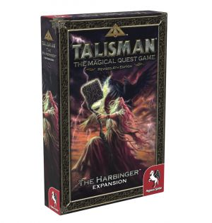 Talisman Revised 4th Edition, The Magical Quest Game, Expansion, Udvidelse, The Harbinger, Pegasus Spiele