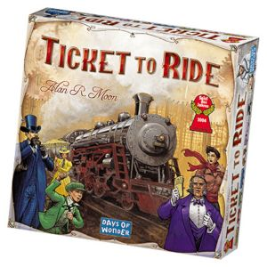 Ticket to Ride: USA - på Dansk - Brætspil