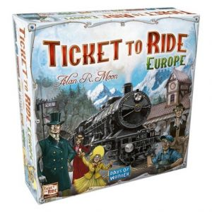 Ticket to Ride Europe - På Dansk; Familiespil; Brætspil