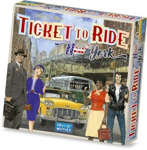 Ticket To Ride: New York - På dansk