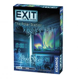 EXIT: The Polar Station, brætspil, coop, mystery game, escape room, escape game, kosmos