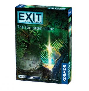 EXIT: The Forgotten Island, brætspil, coop, mystery game,