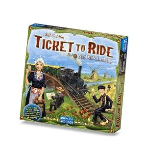 Ticket To Ride: Map Collection #4 - Nederland