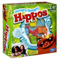 Hungry Hungry Hippos - på engelsk