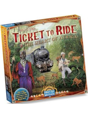 Ticket to Ride: Map Collection #3 - Africa