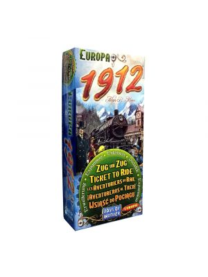 Ticket to Ride - Europa 1912; Familiespil; Brætspil